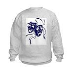 DWP Blue Logo Kids Sweatshirt