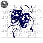 DWP Blue Logo Puzzle