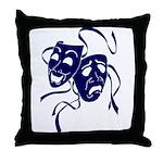 DWP Blue Logo Throw Pillow