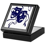 DWP Blue Logo Keepsake Box
