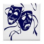 DWP Blue Logo Tile Coaster