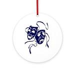 DWP Blue Logo Ornament (Round)