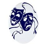 DWP Blue Logo Ornament (Oval)