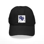 DWP Blue Logo Black Cap