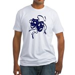 DWP Blue Logo Fitted T-Shirt