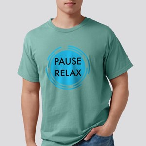 pause relax Mens Comfort Colors Shirt