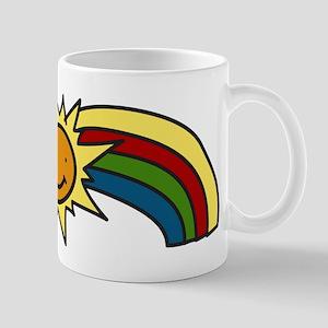 Sun And Rainbow Mug