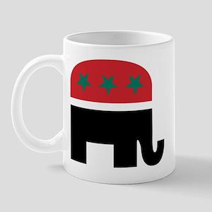 Black Elephant Mug