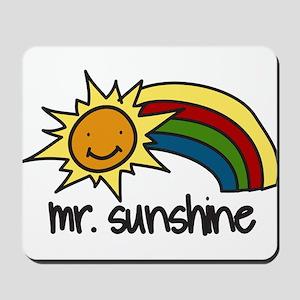 Mr. Sunshine Mousepad