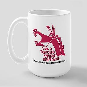 Nightmare Large Mug