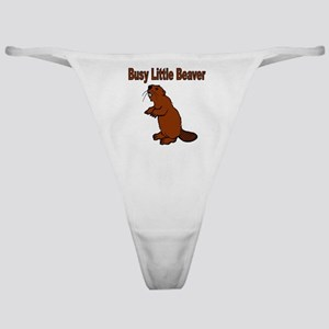 Busy Little Beaver Classic Thong