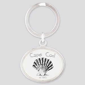 Cape Cod Est.1620 Oval Keychain