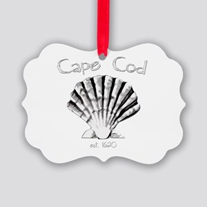 Cape Cod Est.1620 Picture Ornament