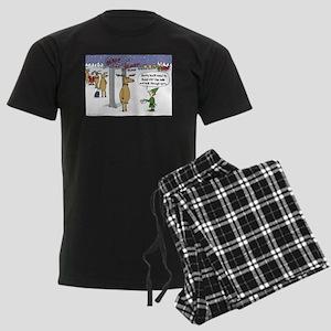 Sleigh Security Men's Dark Pajamas