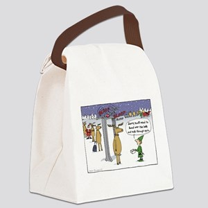 Sleigh Security Canvas Lunch Bag