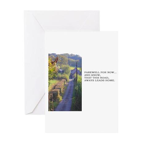 Farewell Greeting Card - Blank Inside