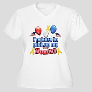mommyhometransparent Plus Size T-Shirt