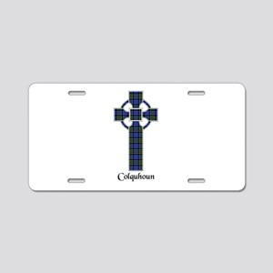 Cross - Colquhoun Aluminum License Plate