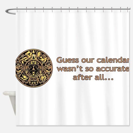 mayan calendar not so accurate horizontal Shower C