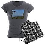 Okanagan Lake from Postil Lake Rd Women's Pajama S