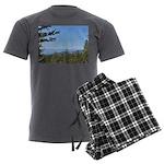 Okanagan Lake from Postil Lake Rd Men's Pajamas