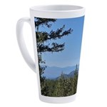 Okanagan Lake from Postil Lake Rd 17 oz Latte Mug