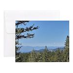 Okanagan Lake from Postil Lake Rd Note Cards (Set