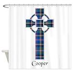 Cross - Cooper Shower Curtain