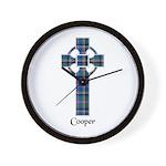 Cross - Cooper Wall Clock