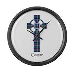 Cross - Cooper Large Wall Clock