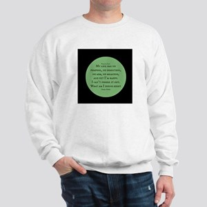 What am I doing Right-Charles Schultz Sweatshirt