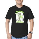 fee-verte-glass_tr Men's Fitted T-Shirt (dark)