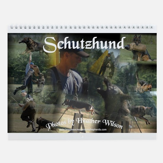 Schutzhund Wall Calendar