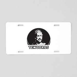 tewodros Aluminum License Plate