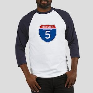 Interstate 5 - CA Baseball Jersey