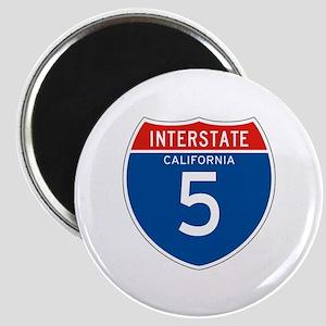Interstate 5 - CA Magnet