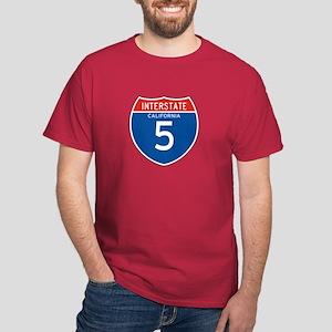 Interstate 5 - CA Dark T-Shirt