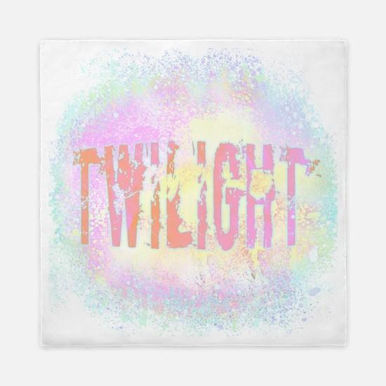 Twilight Pink Ice by Twibaby Queen Duvet