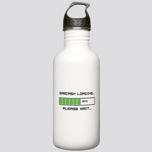 Sarcasm Loading Stainless Water Bottle 1.0L