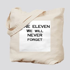 9/11: Never Forget Tote Bag
