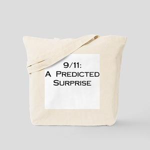 9/11: Predicted Surprise Tote Bag