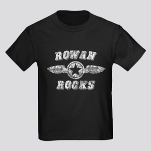 ROWAN ROCKS Kids Dark T-Shirt
