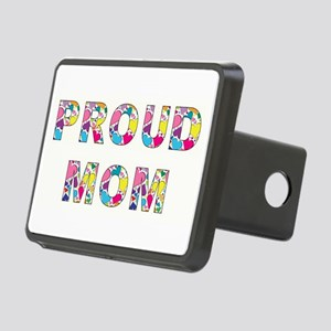 PROUD MOM Rectangular Hitch Cover