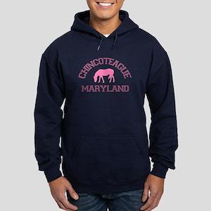 Chincoteague Island MD - Ponies Design. Hoodie (da