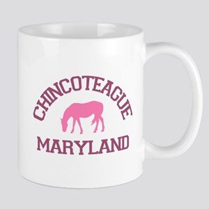 Chincoteague Island MD - Ponies Design. Mug