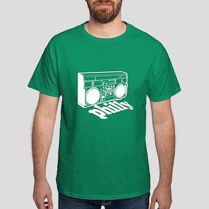 Philly Boombox Dark T-Shirt