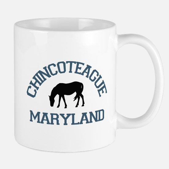 Chincoteague Island MD - Ponies Design. Mug