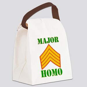 Major Homo Canvas Lunch Bag