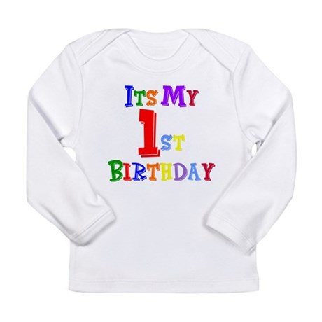 1st Birthday2 Long Sleeve T-Shirt