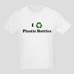 I recycle Plastic Bottles Kids T-Shirt